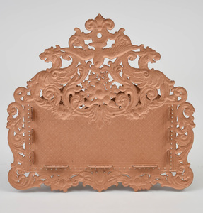 Group of Nine Victorian Style Embossed and Cut Out Paper Wall Pockets