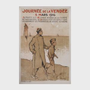 Francisque Poulbot (1879-1946): Journée de la Vendée