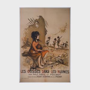 Francisque Poulbot (1879-1946): Les Gosses dans les Ruines