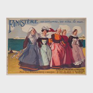 Jean Julien Lemordant (1878-1968): Finistere, ses costumes, ses sites, la mer