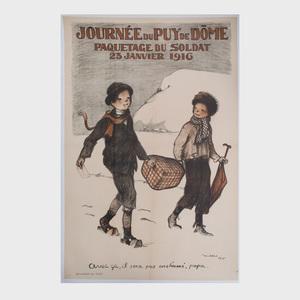 Francisque Poulbot (1879-1946): Journée du Puy de Dome