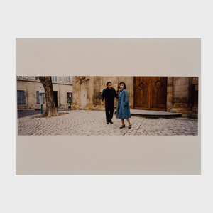Wim Wenders (b. 1945): A Group of Twenty-Four Color Photographs for the book Wim Wenders il tempo con Antonioni together with the book and related ephemera