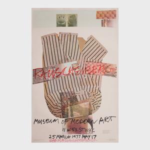 Robert Rauschenberg (1925-2008): Museum of Modern Art Poster
