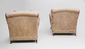 Pair of George Smith Club Chairs