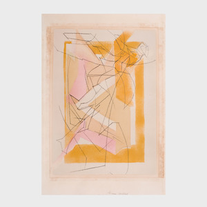Jacques Villon (1875-1963): Huit Lithographies: Two Plates