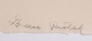 Jacques Villon (1875-1963): Huit Lithographies: Two Plates