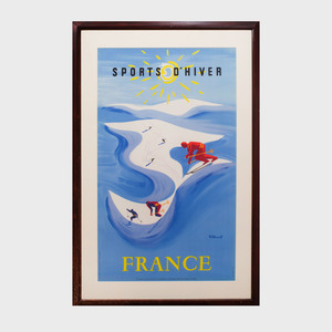 After Bernard Villemont (1911-1989): Sports D'Hiver