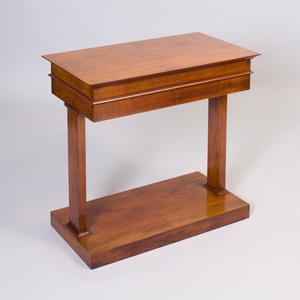 Louis XVI Style Mahogany Side Table, 20th Century