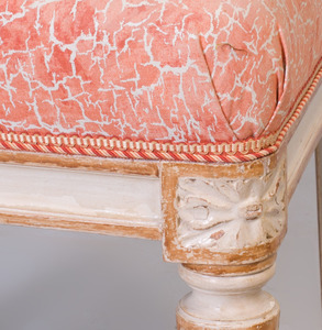 Louis XVI Style Painted Side Chair