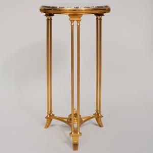 Louis XVI Style Gilt-Metal Guéridon