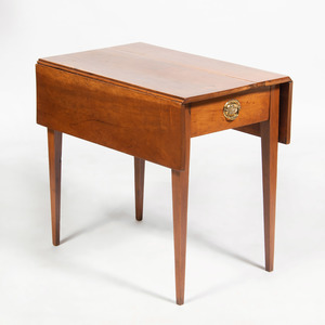 American Federal Cherry Pembroke Table
