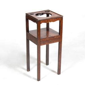 George III Style Mahogany Wash Stand