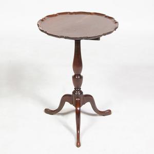 George III Mahogany Tilt-Top Tripod Table