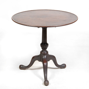 George III Mahogany  Tilt-Top Tripod Table