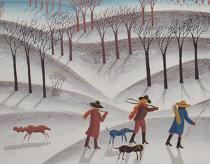 Thomas McKnight (b. 1941): Fox Hunters