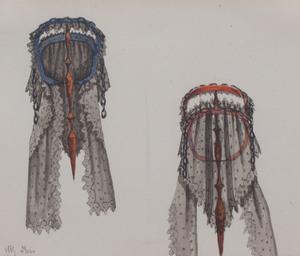 Auguste Félix (1765-1836): Headdress Study