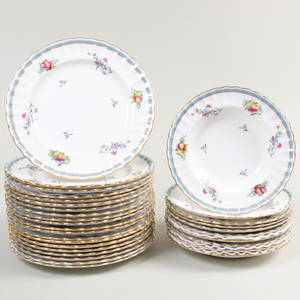 Spode Transfer Printed and Enriched Porcelain Part Service
