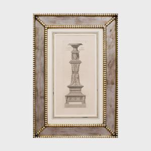 Pietro Ferrerio (1600-1654): Candelabra: Six Plates