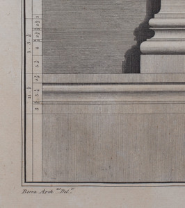 After Robert Wood (1717-1771): Les Ruines de Palmyre: Two Plates