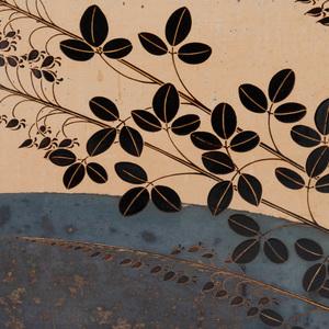 Ban'ura Shogo (1901-1982): Aki no yoru sumi byoobu: Corner Screen of an Autumn Evening