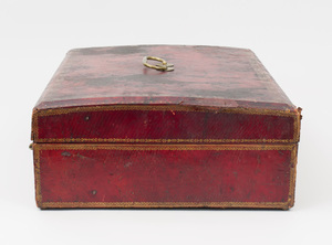 French Tooled-Leather Document Box