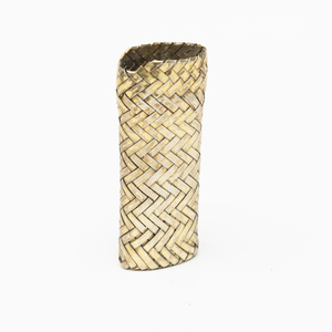Sterling Silver Woven Lighter Case
