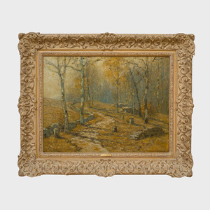 Bruce Crane (1857-1937): Autumn Woodlands