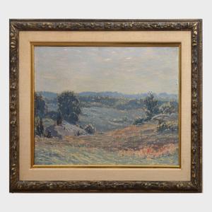 Leonard Ochtman (1854-1934): Landscape