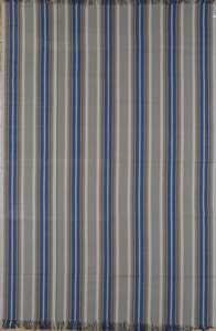 Cotton Striped Flat Weave Rug
