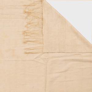 John Robshaw Cream Cotton Flatweave Rug and a Cream Wool Rug