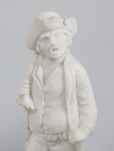 French Biscuit Porcelain Figure of the Young Ceres, a Miscellaneous Group of Bisque Porcelain Figures and Two White Glazed Porcelain Figures