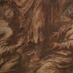Italian School: Figure Preaching