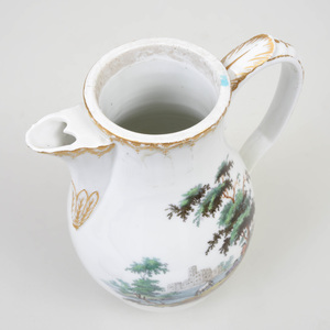 Royal Copenhagen Porcelain Coffee Pot and Cover