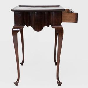 Dutch Rococo Style Mahogany Tray Top Tea Table