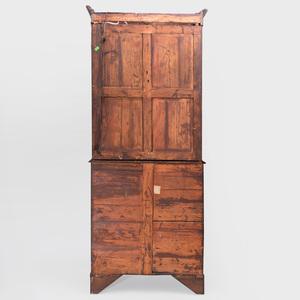 Regency Mahogany Secretary Bookcase