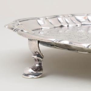 George II Silver Waiter