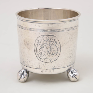 Norwegian Silver Beaker