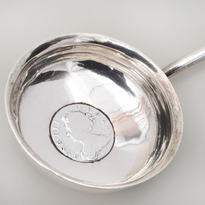 George III Silver Toddy Ladle