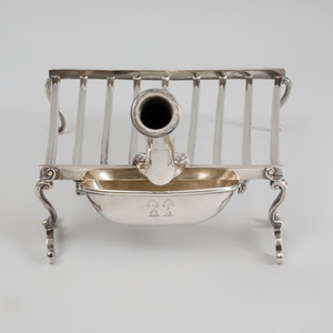 Early Victorian Silver Griddle