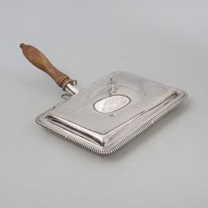 George III Silver Toasted Cheese Dish