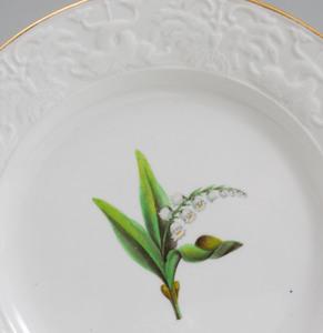 Spode Porcelain Botanical Dessert Service