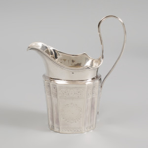 Irish George III Silver Cream Jug