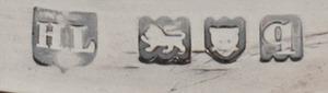 Set of Four George V Silver Candlesticks