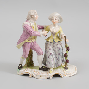 Frankenthal Porcelain Figure Group