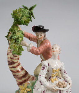 Vienna Porcelain Group of Gardeners
