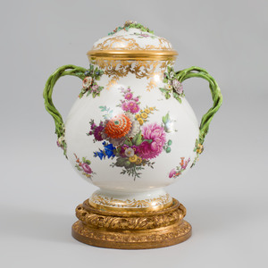 Vienna Porcelain Vase and Cover
