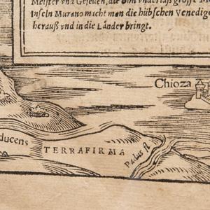 Christoph Stimmer (1490-1562): Veduta Prospetica di Venezia