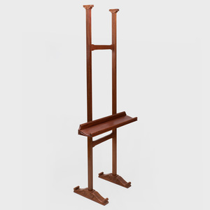 Victorian Style Walnut Easel