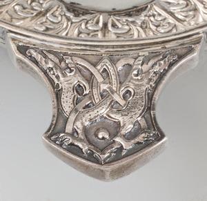 Edward VII Scottish Silver Two Handled Quaich
