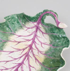 Meissen Porcelain Cabbage Leaf Dish